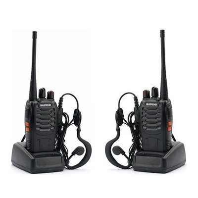 1PC/Baofeng BF-888S Walkie-Talkie Two-way Radio Interphone 5W 400-470MHz 16CH