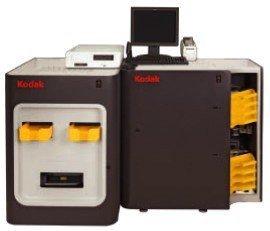 Kodak APEX 70 System (w/ 30+40 cabinet, 2-7010 printer, 8810 printer, Workstation, Label printer, Print Calib. Scanner