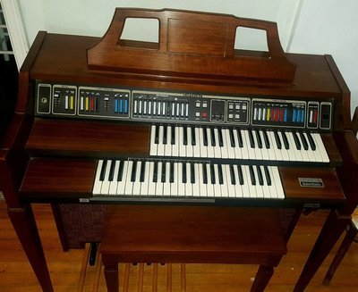 Baldwin Interlude Fun Machine Electronic Organ & Bench