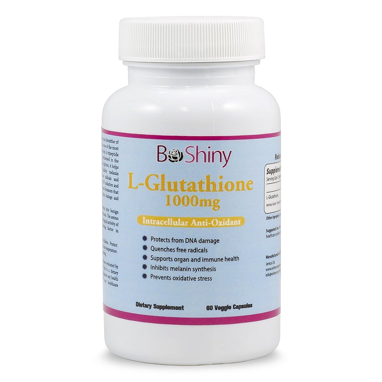 Glutathione Skin Whitening Pills 1000mg