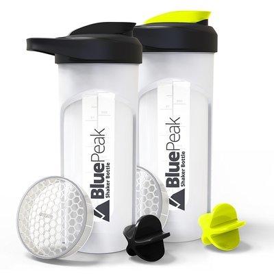 Blue Peak Protein Shaker Bottle 28-Ounce