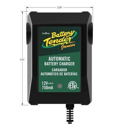 Battery Tender 022-0185G-dl-wh Black 12 Volt 1.25 Amp