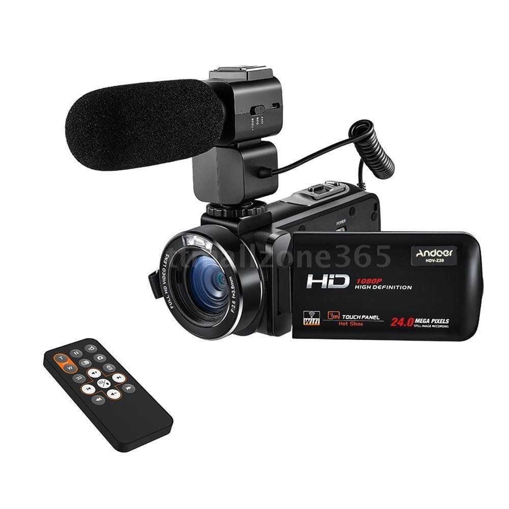 "WiFi FULL HD 1080P 24MP 16X ZOOM 3"" LCD Digital Video Camera DV Camcorder"