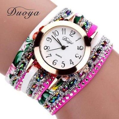 5 Fashions Women Lady Stainless Steel Quartz Analog Bracelet Girl Dress Wrist Watch