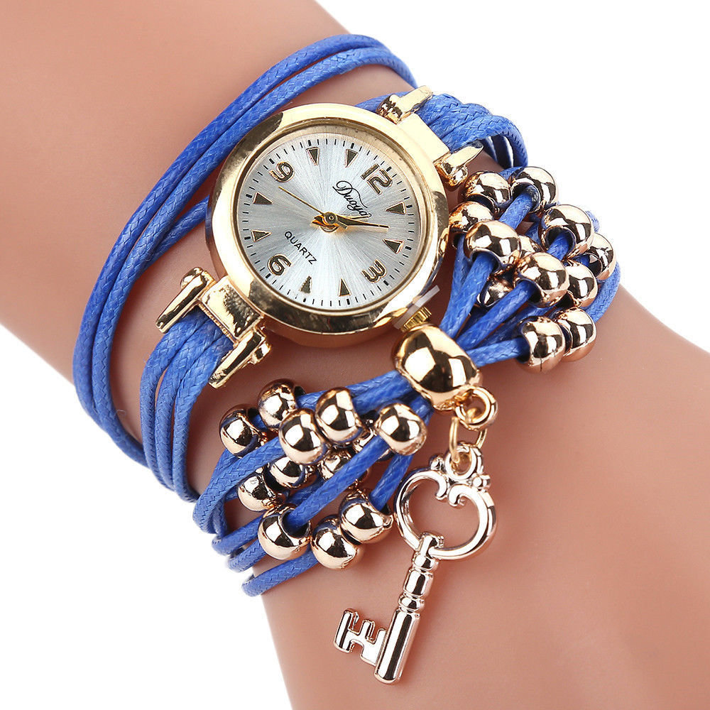 5  Watches Women Quartz Watch Bracelet Flower Wristwatch 2018