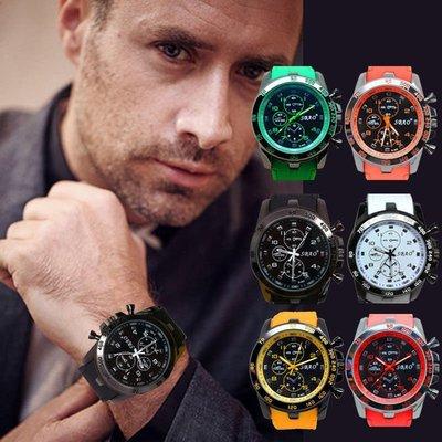 Hot  5 Military Men's Watch Stainless Steel Date Sport Analog Quartz Wrist Watch