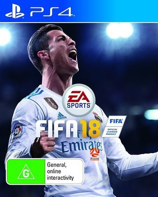 FIFA 18 PS4 Playstation 4 Game EA Sport