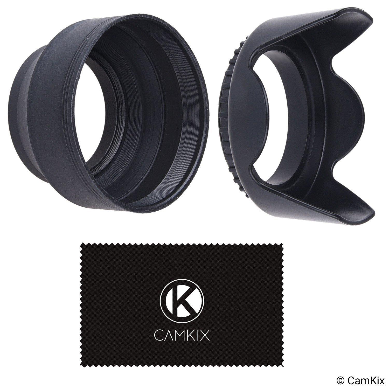 Camera Lens Hoods - Rubber