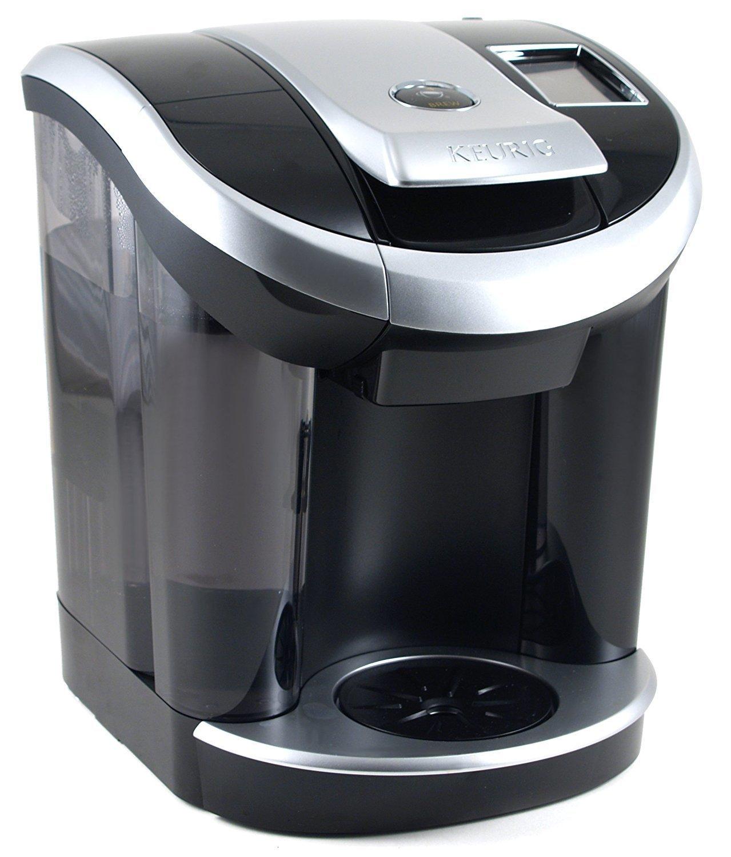 Coffee Maker Single serve coffee system, 1, Black/silver