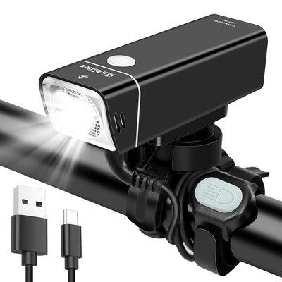 Bike Light Urban 600 Lumens USB Rechargeable Bike Headlight
