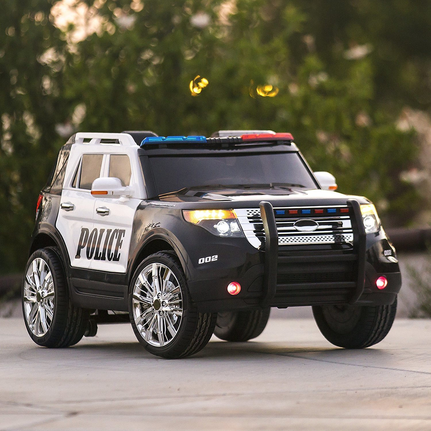Cop car toy,Products Ford Style 12V Ride On Car Police