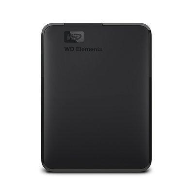 Hard WD 4TB Elements Portable External Hard Drive -