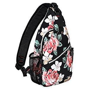 Universal Mosiso Sling Backpack, Polyester Crossbody Shoulder Bag for Men Women Girls Boys