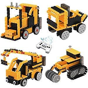 Educate toy Remote Control Building Kits for Boy Gifts, TOYARD STEM Robot Kit Building Toys for 5/6/7 Year Old Boy Gifts