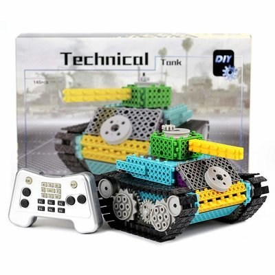 Game PACKGOUT Building Kits for Boys Gift, STEM Robot Kits Construction Set Build Your Own Remote Control Building Kits