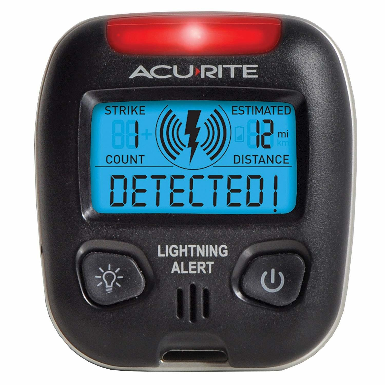 Prevent AcuRite 02020 Portable Lightning Bolts  Detector