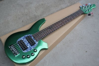 Ring bass New arrived 6 strings electric bass guitar in green color