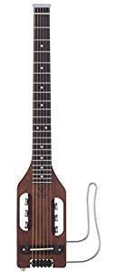Profesional Traveler Guitar ULST BRN Ultra-Light Acoustic-Electric Travel Guitar with Gig Bag