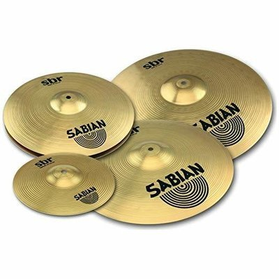 Full Sabian SBR 4-piece Performance Set with FREE 10