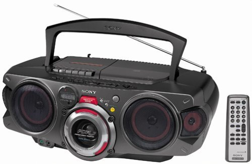 Sony CFD-G70 CD/Cassette/Radio Boombox with 10-Key Remote