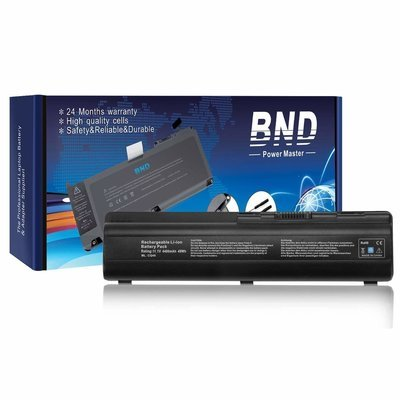 New BND Laptop Battery for HP Pavilion DV4-1000 DV4-2000 DV5-1000 DV6-1000 DV6-2000 CQ50 CQ60 CQ70 G50 G60 G60-549DX G60T G61 G70 G71 Series, Fits P/N 484170-001 EV06 KS524AA KS526AA HSTNN-IB72
