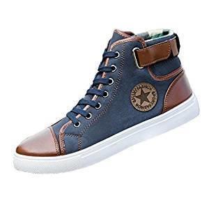 Fashon Canvas Shoes Hot Sale(bleu)