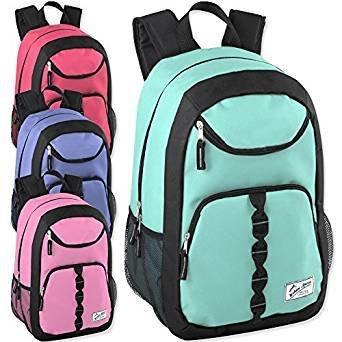 Shoulder bag 18 Inch U Pocket Backpack With Padding(package of 18)