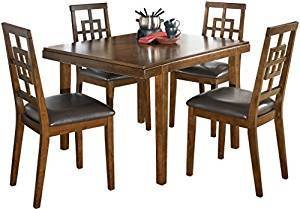 Comfortable  Dining Room Table and Chairs Set - 1 Table and 4 Chairs - Set of 5 -