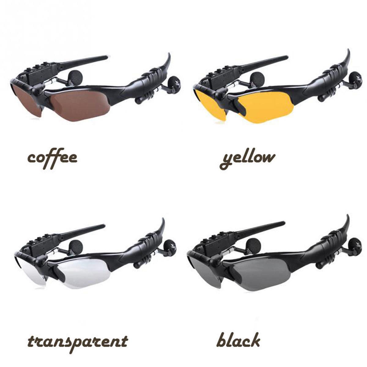 New Bluetooth Smart Sunglasses Glasses Headphone