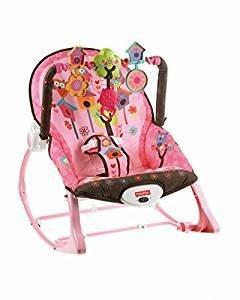 Baby Fisher-Price Infant-to-Toddler Rocker, Pink