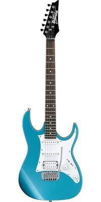 Excentric Ibanez GIO series GRX40Z Electric Guitar Metallic Light Blue
