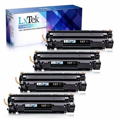 Best LxTeK 4 Pack Compatible with Canon 137 9435B001AA Toner Cartridge