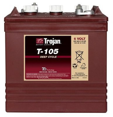 Energies Power Trojan 6 Volt Battery T-105