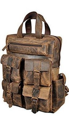Easily Backpack Laptop for men/women Brown Leather