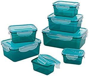 (14 Pieces) Global Storage Container-Set,  Suitable for Dishwasher, Freezer, Microwe