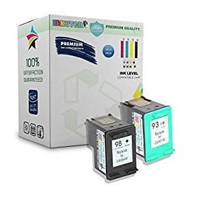 ( 2 pack ) Ink Cartridge Packard HP 98 & HP 93