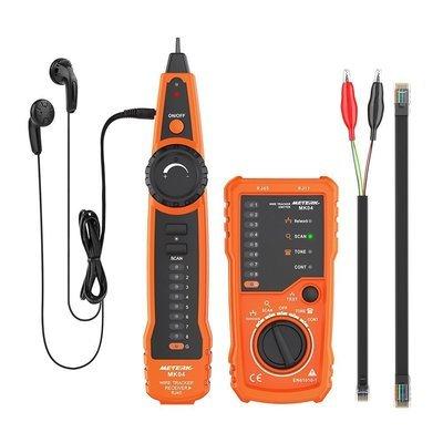 Tools Meterk Wire Tracker RJ11 RJ45 Line Finder Handheld Cable Tester Multifunction