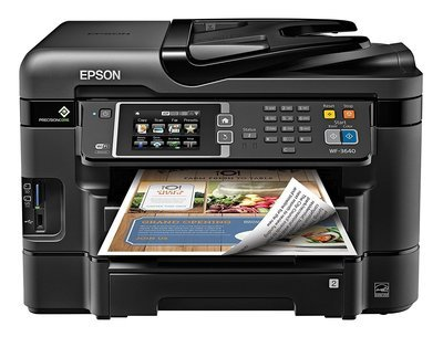 Use Epson WorkForce WF-3640 Wireless Color 3640