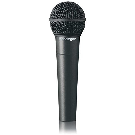 Dynamic vocal microphone with smooth mid-frequency presence voice projection Ultra-wide frequency