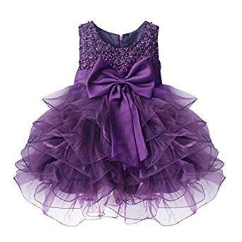 Cute Baby Girls Flower Wedding Pageant Princess