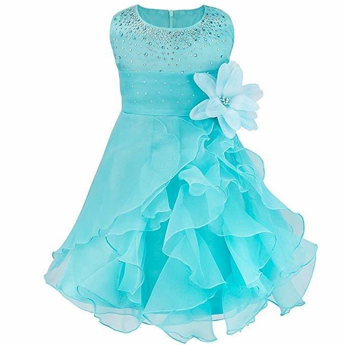 Show Baby Girls Rhinestone Princess Wedding