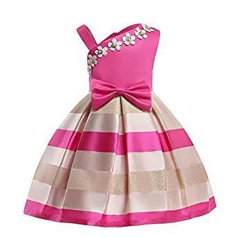 Princess Baby Girls Dress Ball Gown Party Wedding