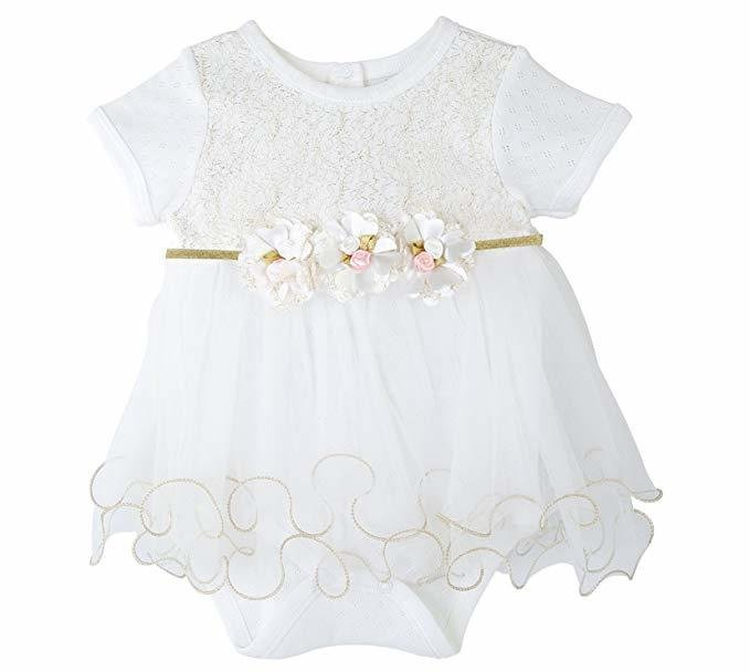Best Taffy Baby Girl Newborn Gold Glitter