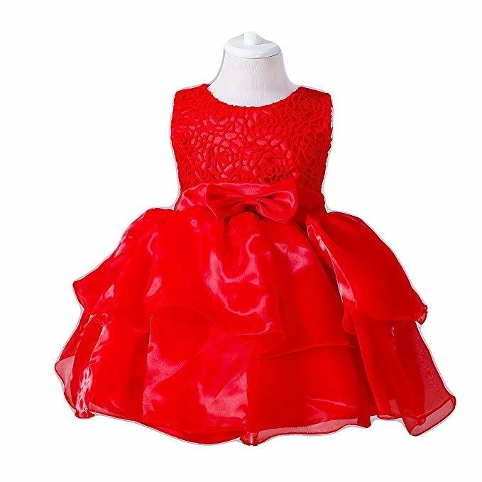 Kindly 0-24 Months Baby Flower Girl Dress Kids