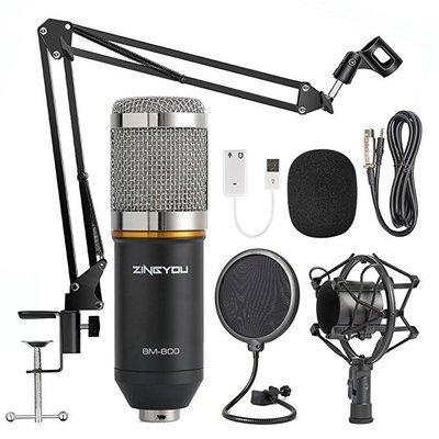 Studio Recording & Brocasting (BM-800 Microphone Bundle)