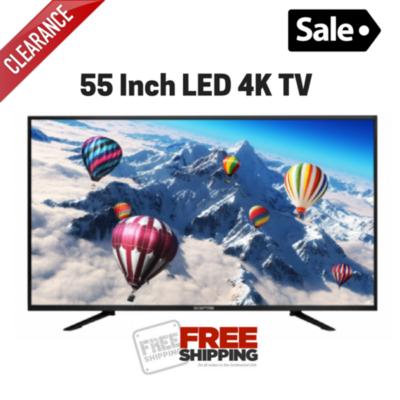 55'' LED Screen 4K TV Clearance