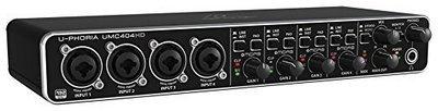 IMP BEHRINGER UMC 404HD Audiophile 4X4 24-Bit