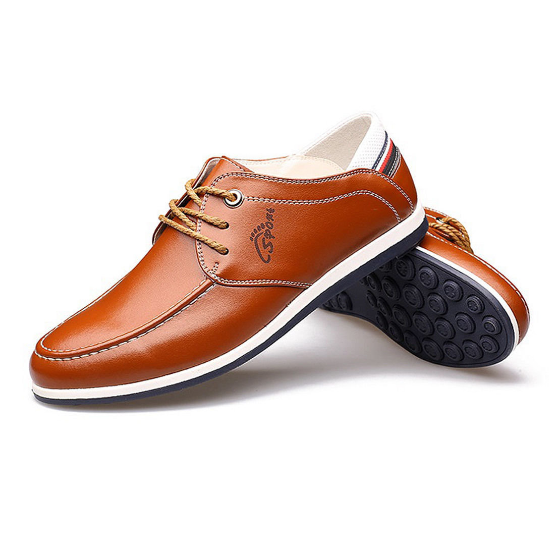 Men's Lace Up Breathable Driving Shoes