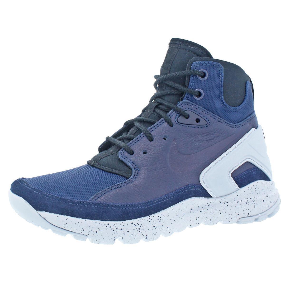 Nike Mens Koth Ultra Mid Navy Mid Casual Shoes Sneakers 6 Medium