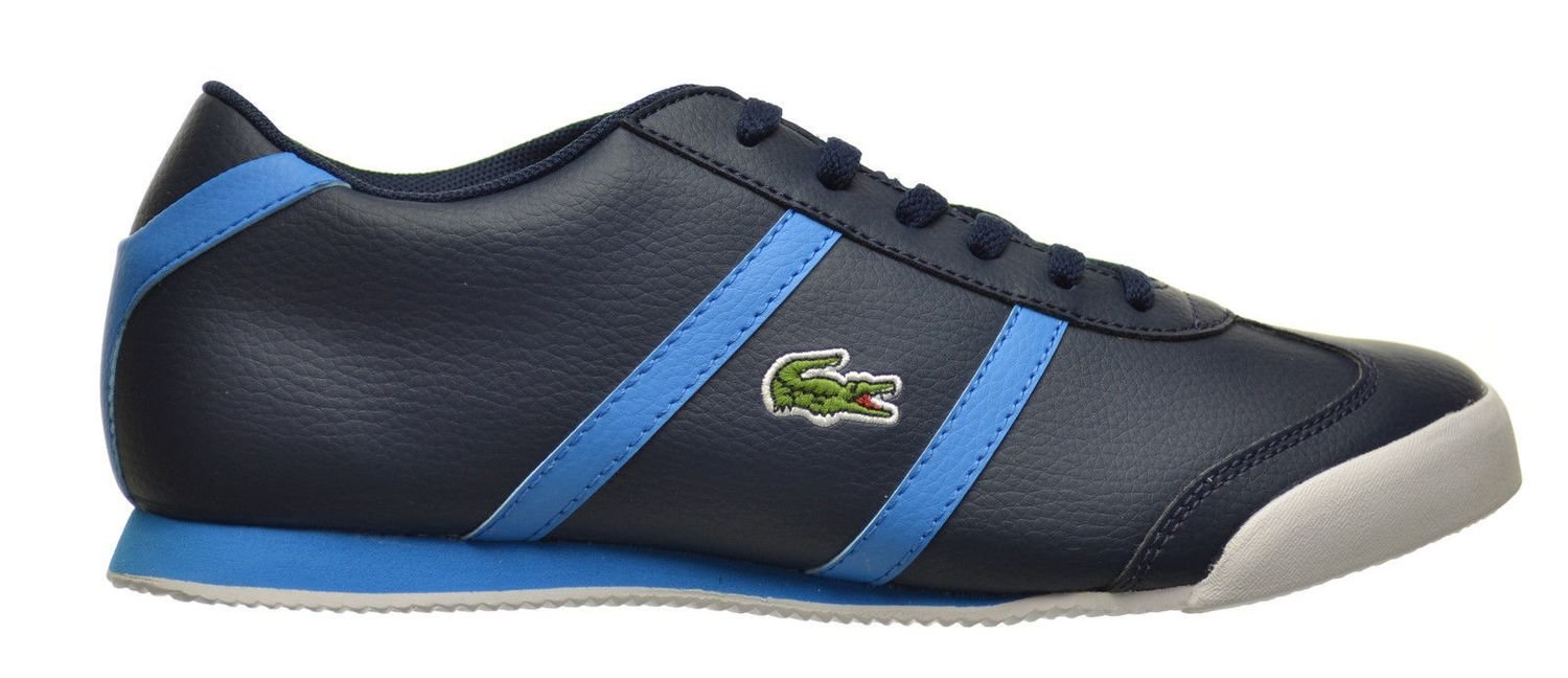Lacoste Tourelle CLC SPJ Big Kids Shoes Dark Blue/Blue